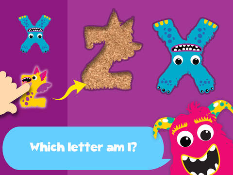 My first alphabet and letters monster puzzle Pro Jigsaw Game for toddlers and preschoolers screenshot 6