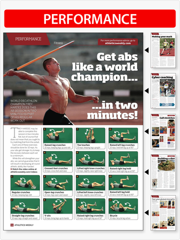 Athletics Weekly Magazine screenshot 8