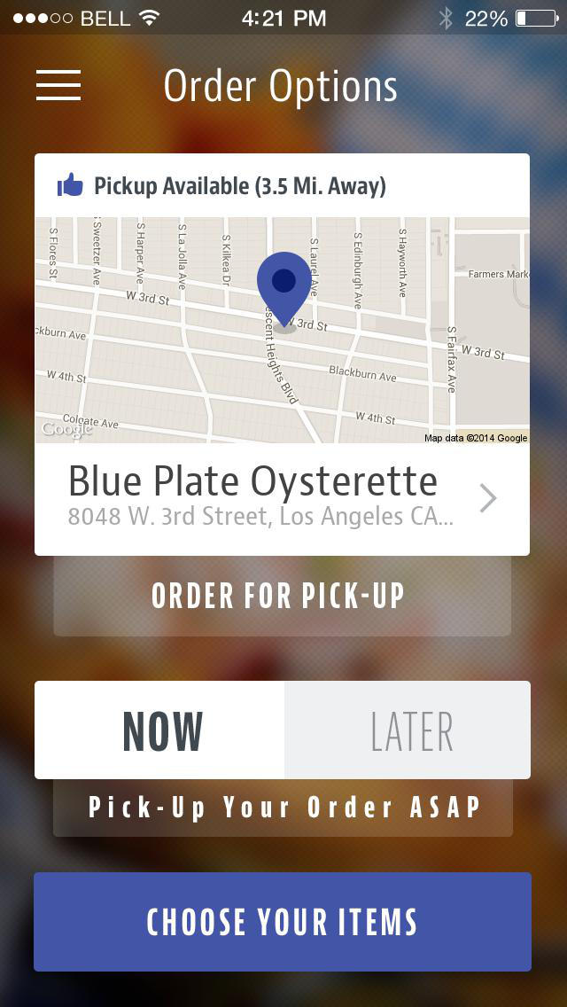 Blue Plate Oysterette screenshot 2