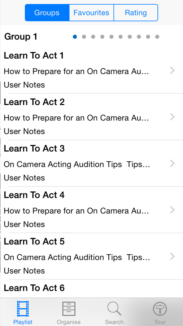 Learn To Act screenshot 2