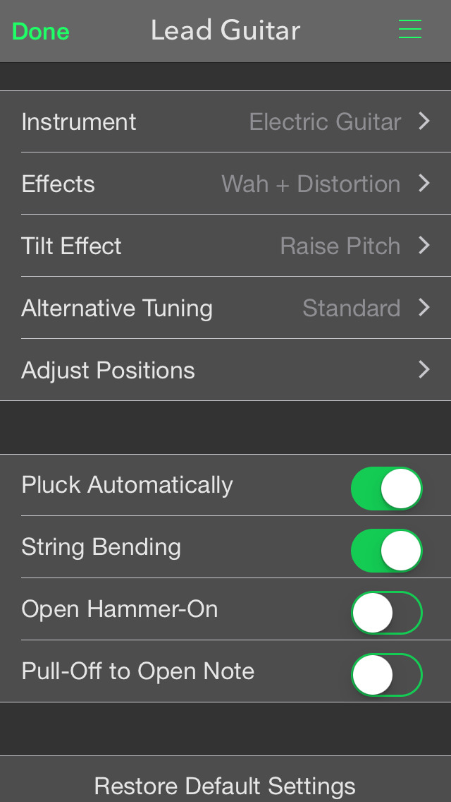 PocketGuitar - Virtual Guitar in Your Pocket screenshot 4