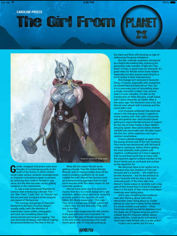 Starburst (Magazine) screenshot 9