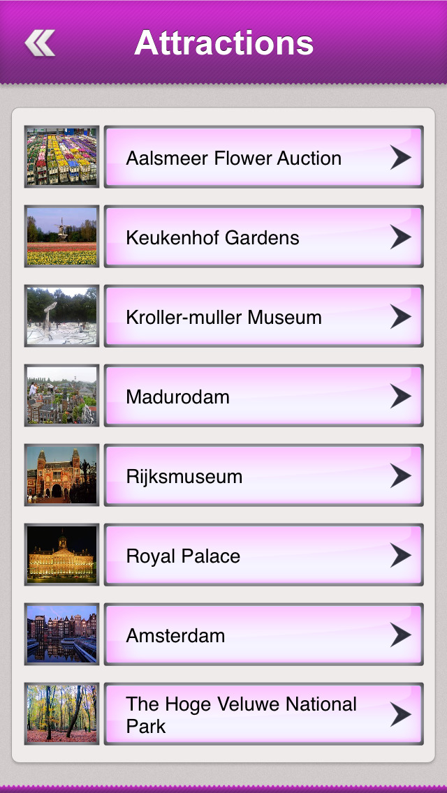 Netherlands Tourism Guide screenshot 3