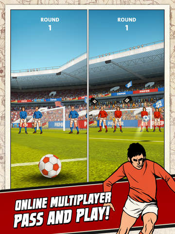 Flick Kick Football screenshot #3