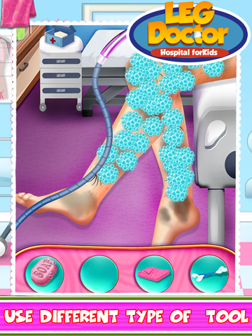 Leg Doctor Hospital For Kids screenshot 6