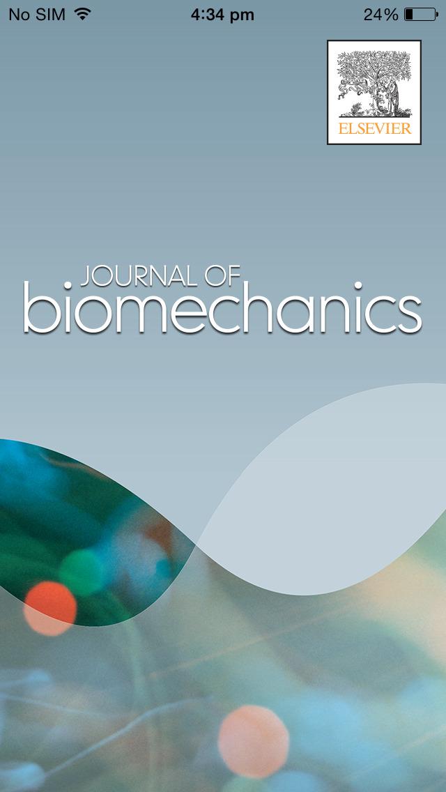 Journal of Biomechanics screenshot 1