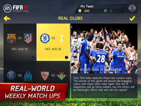 FIFA 15 Ultimate Team™ New Season screenshot 10