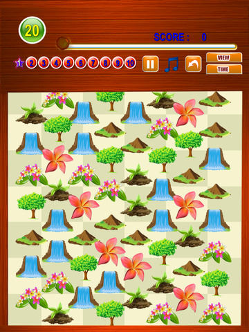 Free Match Game Nature Match Three screenshot 6