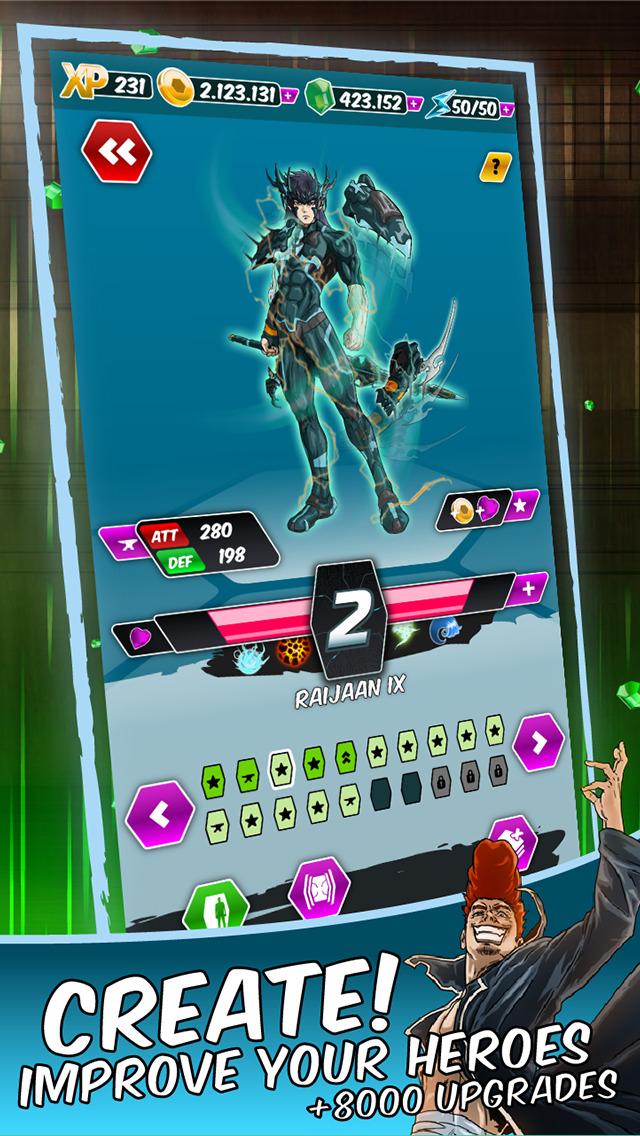 Dengen Chronicles Trading & Collectible Card Game screenshot 3