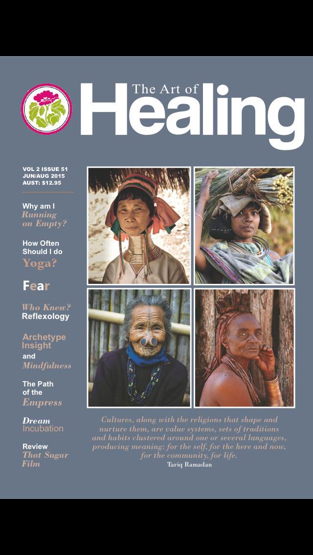 The Art of Healing Magazine screenshot 1