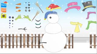 snowman dressup christmasgames screenshot 2