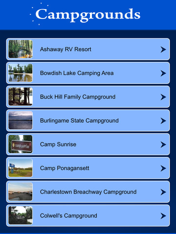 Rhode Island Campgrounds Guide screenshot 7