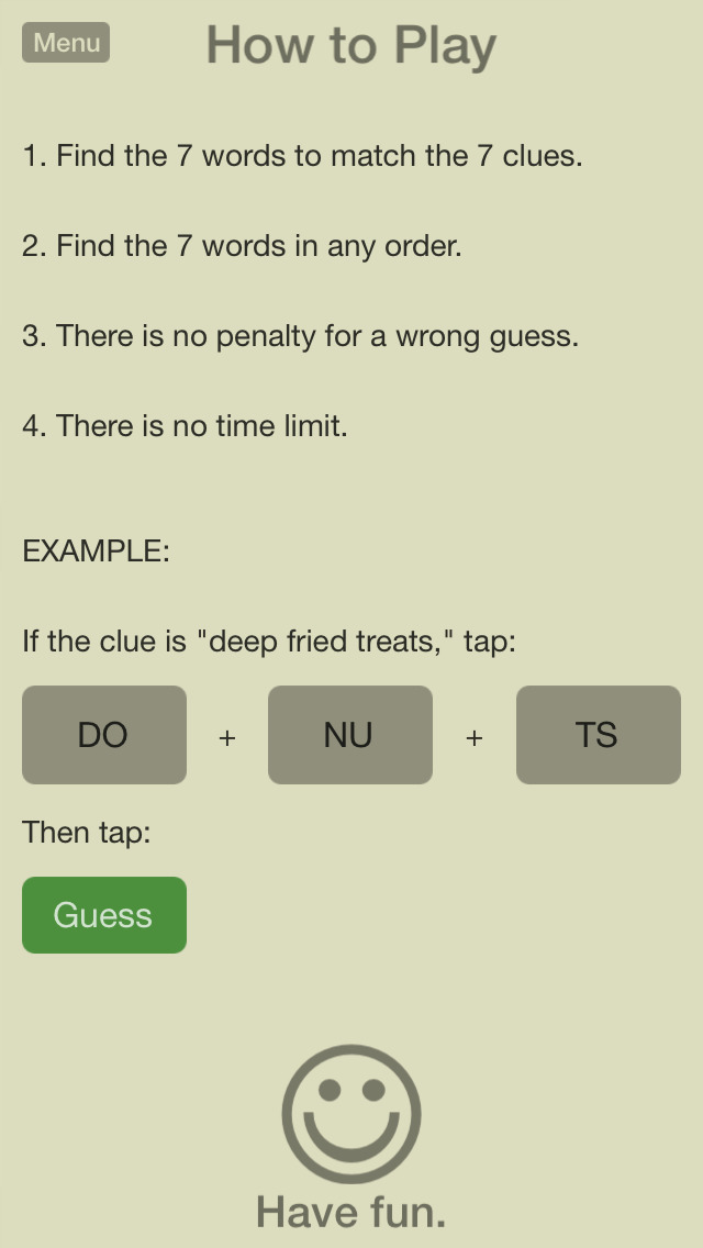 7 Little Words: Word Puzzles screenshot 3