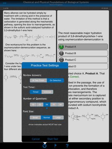 McGraw-Hill Education MCAT Practice Tests screenshot 7