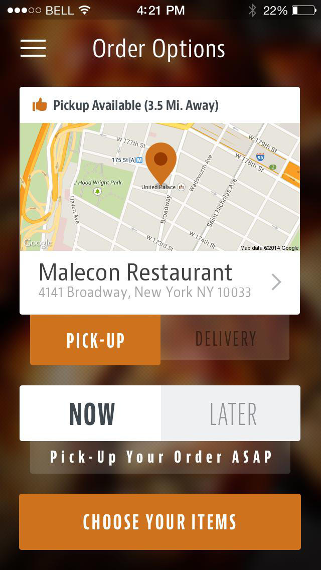 Malecon Restaurant screenshot 2