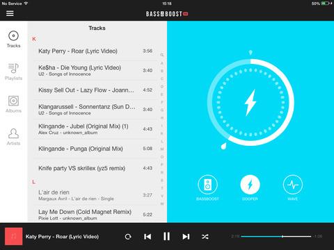 Bass Booster Pro - Volume Power Amp & Music Player screenshot 9