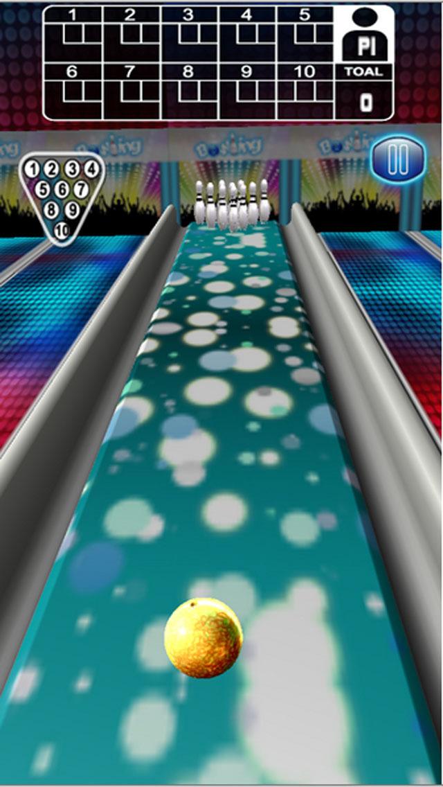 Strike Pin Bowling 3D - Pro screenshot 3