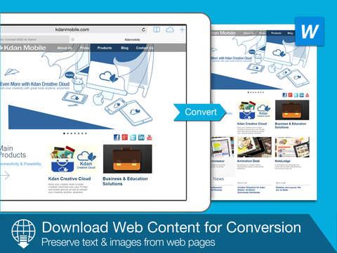 PDF WordSmith - Convert PDF to Word, HTML and TXT screenshot 9
