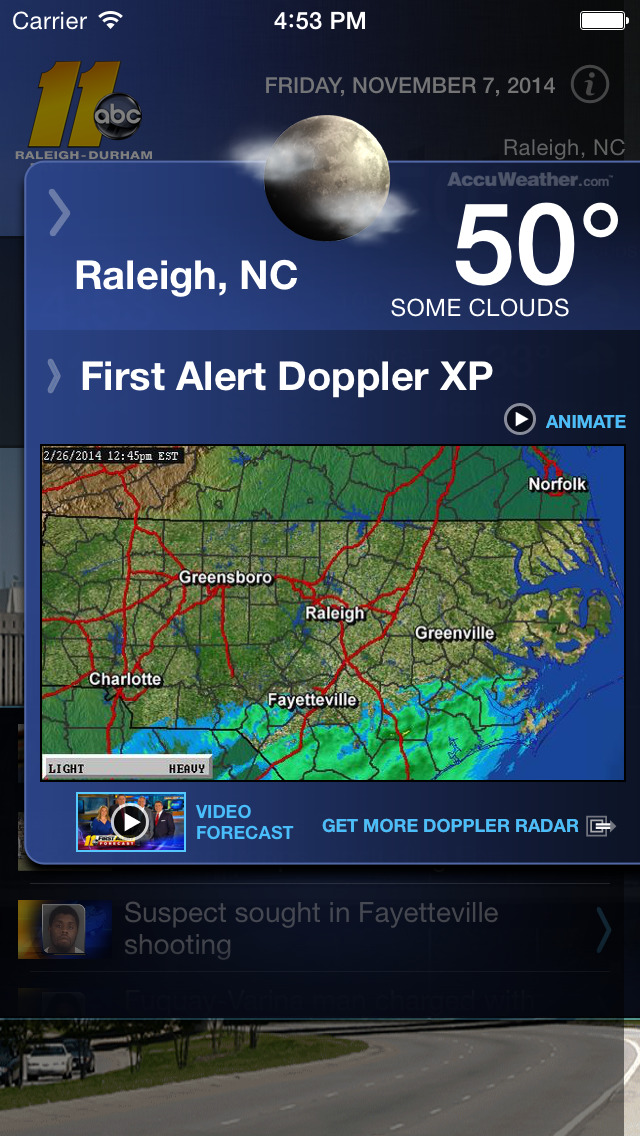 ABC11 Raleigh-Durham Alarm Clock screenshot 3