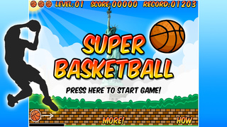 Super Basketball FREE screenshot 1