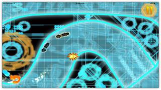 Bike Racing Pro : Smash Neon Cops In Impossible Race screenshot 3