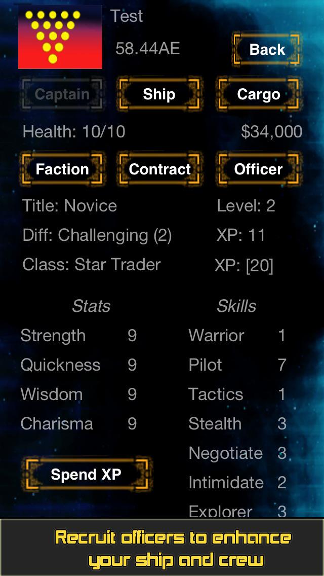 Star Traders RPG screenshot #3