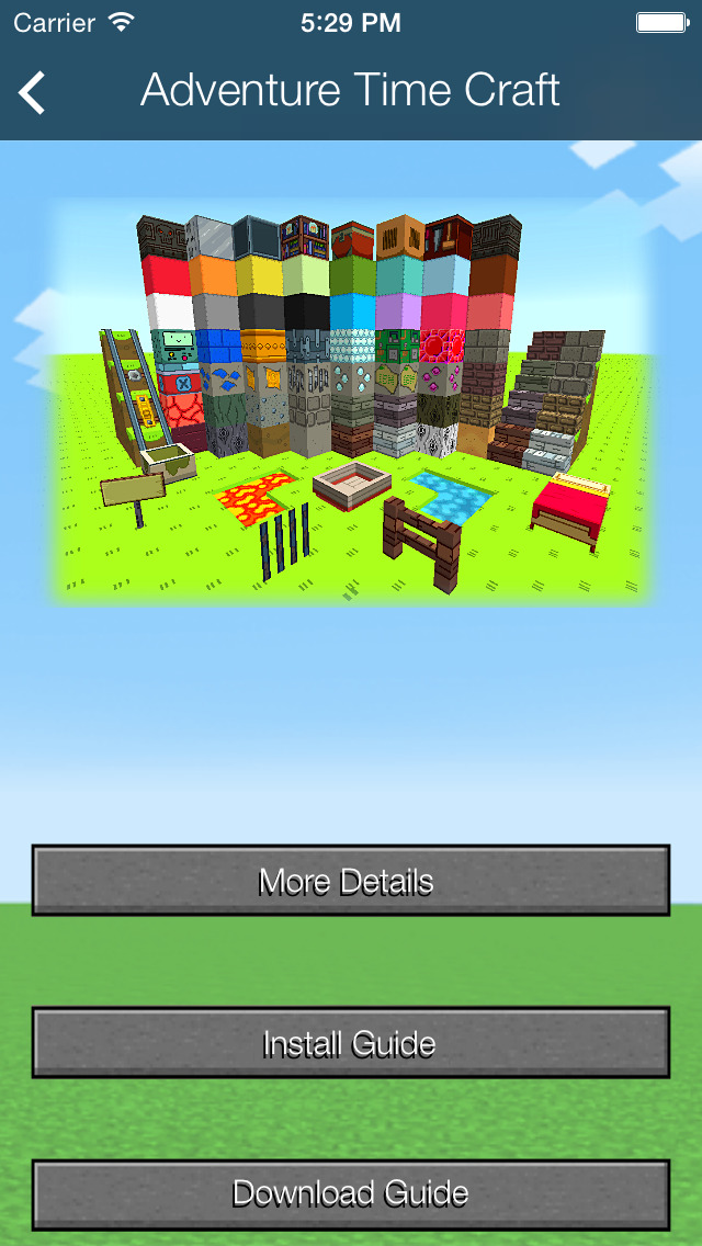 Texture Packs Plus - Guide for Minecraft screenshot 1