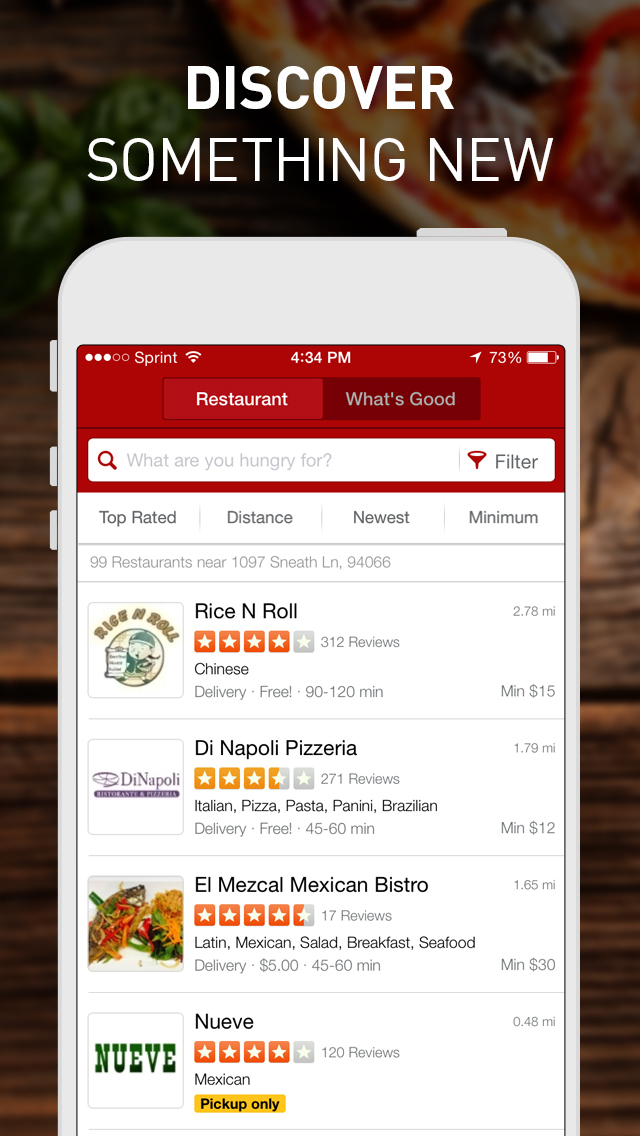 Yelp Eat24 - Order Food Delivery & Takeout screenshot 3