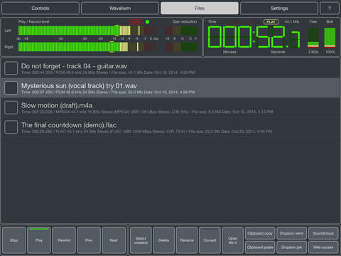 Master Record - Tape simulation recorder & effects screenshot 3