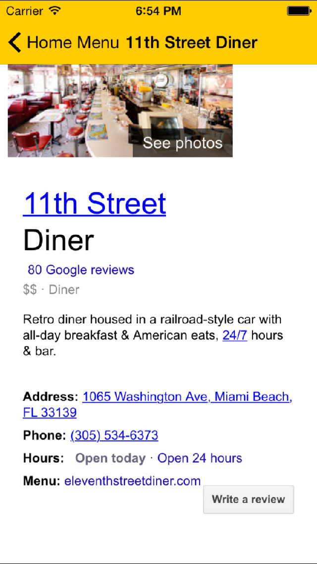 Diners & Dives TV - The Guide for Diners Drive-ins and Dives screenshot 3