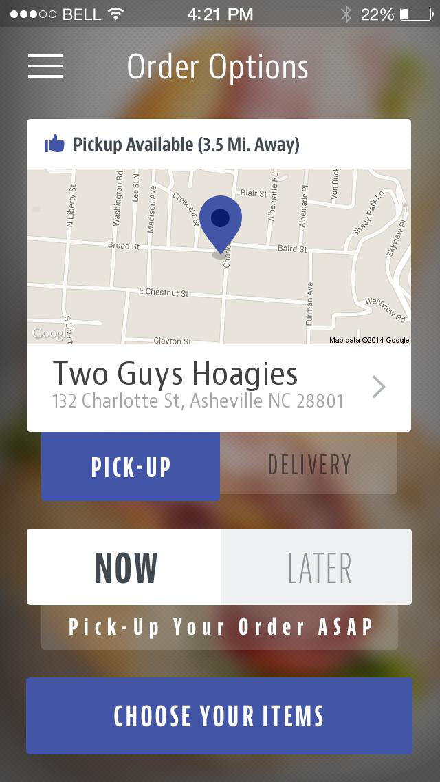 Two Guys Hoagies screenshot 2