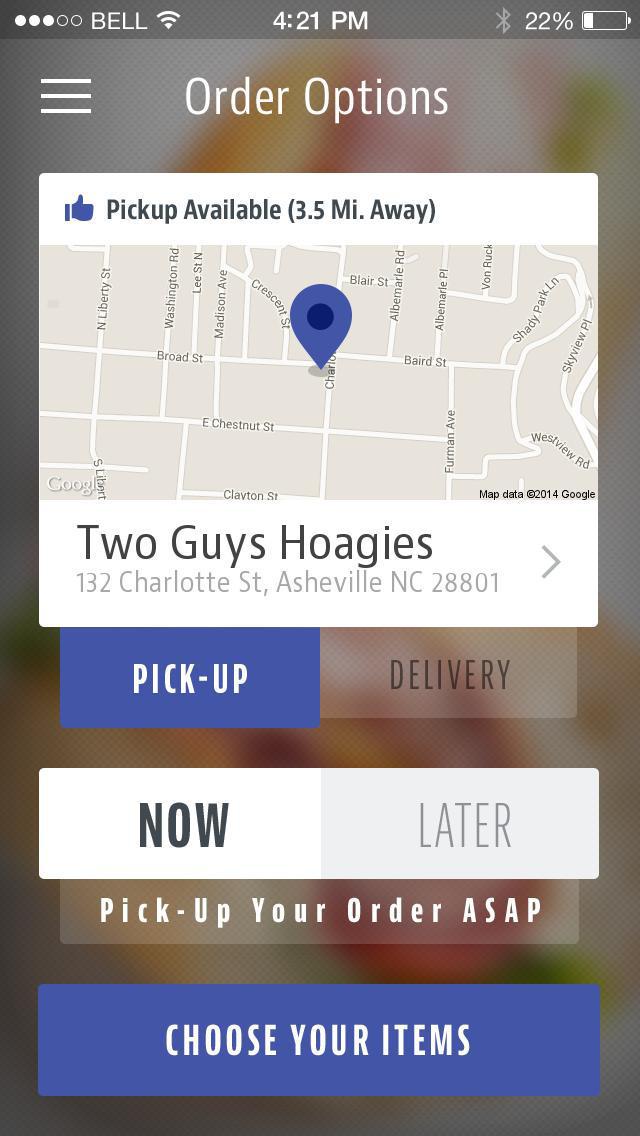Two Guys Hoagies screenshot 2