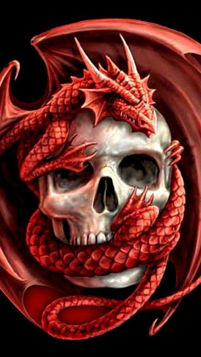 Skull Wallpaper Iphone