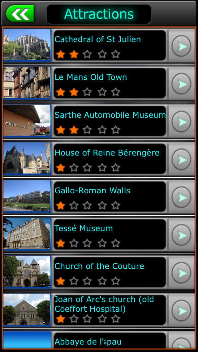 Le Mans  Offline Map City Guide screenshot 4