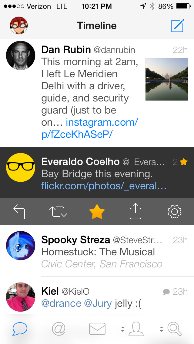 Tweetbot 3 for Twitter. An elegant client for iPhone and iPod touch screenshot 1