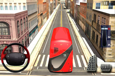 Extreme City Bus Driver Simulator 3D - náhled
