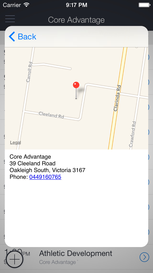 Core Advantage Bookings screenshot 3