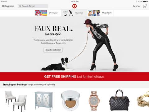 Target for iPad screenshot 1