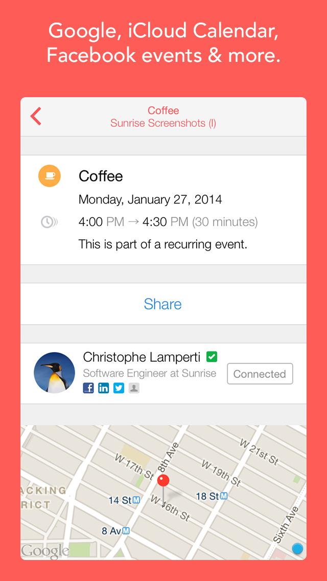 Sunrise Calendar - An Outlook App screenshot 3