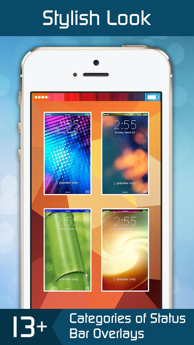 Lock Screen Wallpapers,Status Bar Wallpapers & Backgrounds for iPhone, iPad & iPods screenshot 4