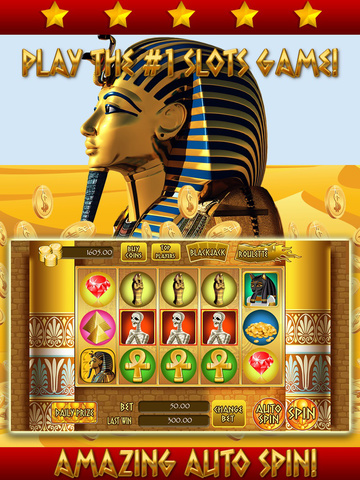 *777* Pharaoh Slots - Casino Games HD screenshot 6