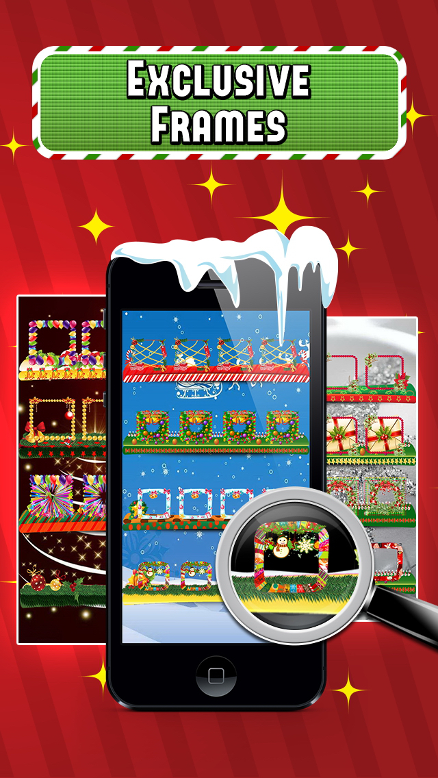 Christmas Screen Builder - Icon Skins Maker screenshot 3