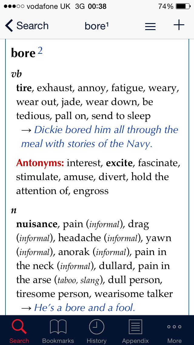 Collins Dictionary+Thesaurus screenshot #2