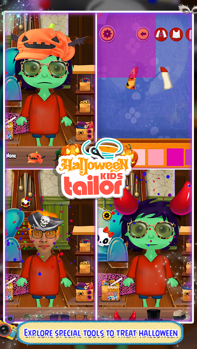 Halloween Kids Tailor screenshot 1