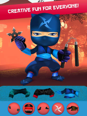 My Epic Ninja Superheroes World Fighter Club Game screenshot 9