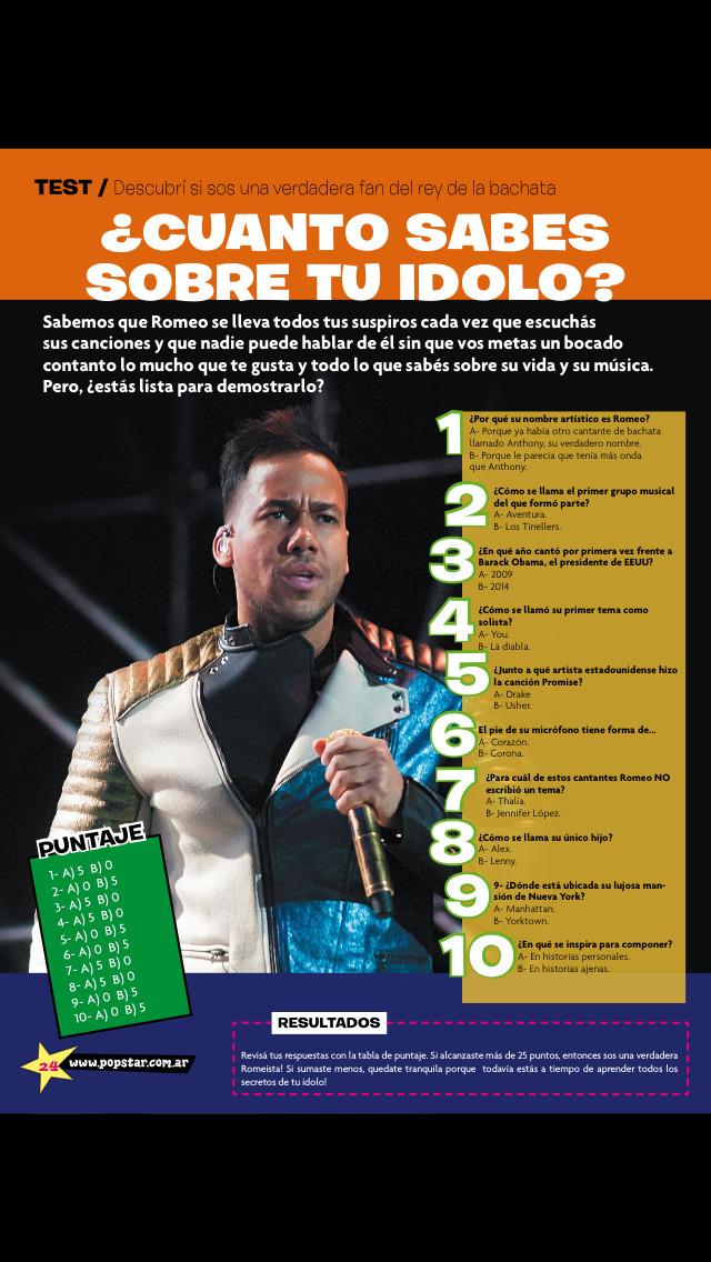 Pop Star (revista) screenshot 4