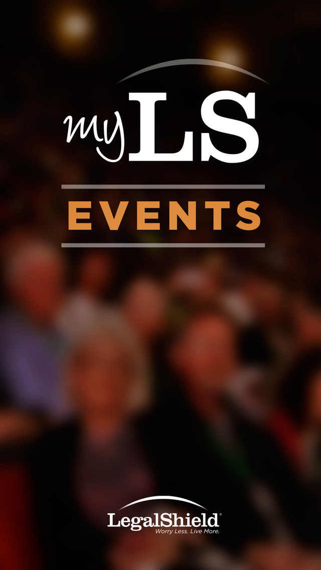 MyLSEvents screenshot 1