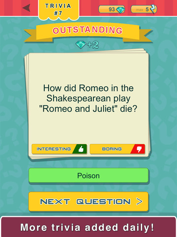 Trivia Quest™ Literatures - trivia questions screenshot 7