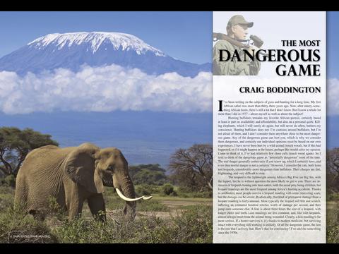 Dangerous Game Hunting Magazine screenshot 8