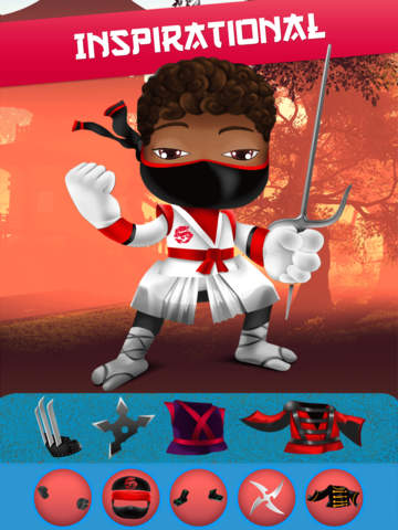 My Epic Ninja Superheroes World Fighter Club Game screenshot 8